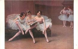 SALON DE PARIS  F.  FLEURY  AVANT LA LECON  LUXOCHROMIE - Peintures & Tableaux