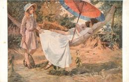 SALON DE PARIS   G.  BUTLER  L'HEURE DOREE   LUXOCHROMIE - Peintures & Tableaux