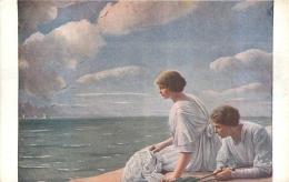 SALON DE PARIS   LEMPOOL  LES MOUETTES  LUXOCHROMIE - Peintures & Tableaux