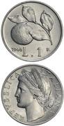 REPUBBLICA - 1948 - £.1, Arance, Bella Moneta In Condizioni FDC, RARA - 1 Lire