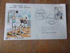 FRANCE (1956) SPORT Basket - FDC
