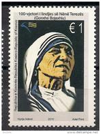 2010 Kosovo   Mi. 167  **MNH  100. Geburtstag Von Mutter Teresa.