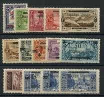 Grand Liban (1927) N 84 AÌ€ 97 * (charniere) - Great Comoro Island (1897-1912)