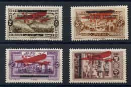 Grand Liban (1927) PA N 21 AÌ€ 24 * (charniere) - Neufs