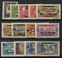 Grand Liban (1928) N 98 AÌ€ 110 * (charniere) - Great Comoro Island (1897-1912)