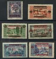 Grand Liban (1928) N 116 AÌ€ 121 * (charniere) (C21,50 E5).jpg - Great Comoro Island (1897-1912)