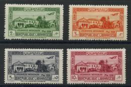 Grand Liban (1938) PA N 75 AÌ€78 * (charniere) - Neufs