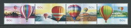 Australia 2008 Ballooning Up & Away Strip Of 4 MNH - Mint Stamps
