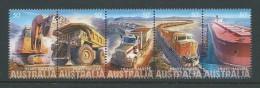 Australia 2008 Heavy Haulage Mining Transport Strip Of 5 MNH - Mint Stamps