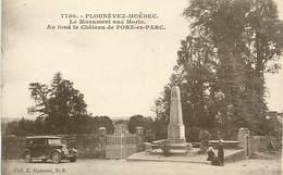 A-17-2025 : MONUMENT AUX MORTS DE LA GRANDE-GUERRE 1914-1918. PLOUNEVEZ-MOËDEC  AUTOMOBILE - Frankrijk