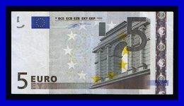 """5 EURO """"N""""AUSTRIA Firma DUISENBERG  F001 E3  SEE SCAN!!!!!! - EURO"""