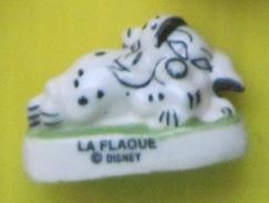 Fève   Disney - Les 101 Dalmatiens Live - Dalmatien La Flaque - Réf AFF 1998 32 - Disney