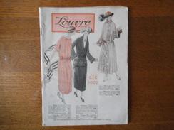 AU LOUVRE PARIS CATALOGUE ETE 1922  120 PAGES - Publicités