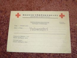 Magyar Vöröskereszt Hadifogoly LevelezÅ'lap Hungarian Red Cross Prisoner Of War Russia Postcard Carte Postale - Militaria