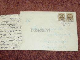 Szeged-Nagyvárad Oradea Zugpost Nagyszalonta Salonta Békéscsaba Romania Hungary Envelope 1942 - Roumanie