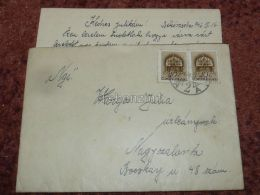 Nagyszalonta Salonta Békéscsaba Romania Hungary Envelope 1942 - Roumanie