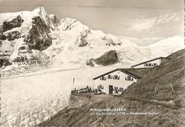 HOFFMANNSHUTTE 2438 MIT GROBGLOCKNER 3798 MT PASTERZENGLETSCHER - VIAGGIATA 1966 - (rif. S26) - Heiligenblut