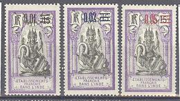 Inde: Yvert 56/58* - India (1892-1954)