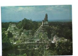 S2558 Postcard: Guatemala: Vista De La Plaza Mayor Y Acropolis Norte Desde Templo V _ FOTOS: VANKIRK, PRORECO, ANTIGUA - Guatemala