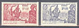 Inde: Yvert 116*/117(*) - India (1892-1954)