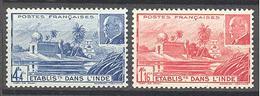 Inde: Yvert 126/127** - India (1892-1954)