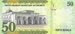 SAUDI ARABIA P. NEW  50 R 2016 UNC - Arabie Saoudite