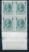 IMPERIAL RUSSIA YR 1913,SC 94,MI 88,MNH **,BLOCK 4,CATHERINE II