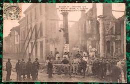 D47 - MIRAMONT - N°1/ INCENDIE Du 3/décembre 1906 - 'Les Maisons LEGER Et LABONE - France