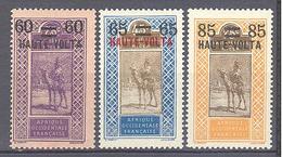 Haute Volta: Yvert N° 21/23*; - Obervolta (1920-1932)