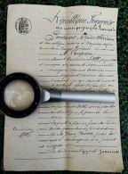 2 ACTES NOTARIES ANCIENS Du PAYS BASQUE ( NOTAIRE à BAYONNE Et CONCERNE ARCANGUES) - Oude Documenten