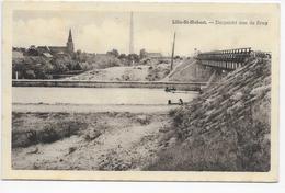 Sint-Huibrechts-Lille   -  Lille-St-Hubert  - Dorpszicht Aan De Brug - Neerpelt