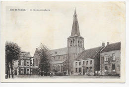 Sint-Huibrechts-Lille   -  Lille-St-Hubert  - De Gemeenteplaats - Neerpelt