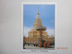 Postcard Wat Phra Thart Hali Pun Chai In Lumpoon Province North Of Thailand [ Temple ] My Ref B2232 - Thailand