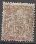 Indochine 1900 N°  21 Sage Faux De FOURNIER  (D28) - Gebraucht
