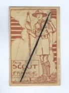 Carte Très Très Souple , Très Très Fine - Fais Toi Scout De France  (Scoutisme ) - Scouting