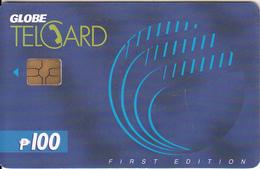 PHILIPPINES - Globe Telecom P100, Chip GEM3.1, Exp.date 31/08/02, Used