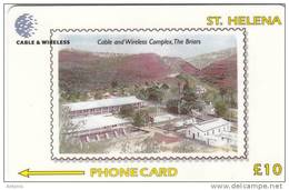 ST. HELENA ISL.(GPT) - C & W Complex, CN : 327CSHCB, Tirage 1200, Used - Sainte-Hélène