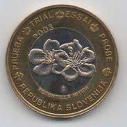 Slovénie : Prueba - Trial - Essai - Probe - Specimen 2003 BIMETAL : Diamètre 32 Mm - Autres