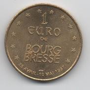 1 Euro De Bourg En Bresse 1997 : Eglise De Brou - Euros Of The Cities