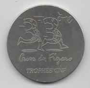 Médaille Marathon : 33ème Cross Du Figaro 1993 : Monnaie De Paris - France