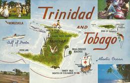 TRINIDAD AND TOBAGO, MAPA  [39853] - Trinidad