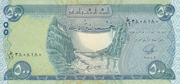 IRAQ 500 DINAR 2013 2014 P-98 UNC - Iraq