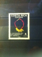 Costa Rica 1988 ** 500th Anniversary Of The Discovery Of The Americas - Costa Rica