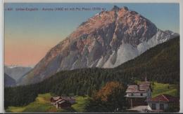 Unter-Engadin - Avrona (1460 M) Mit Piz Pisoc (3178 M) Photoglob No. 601 - GR Grisons