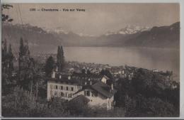 Chardonne - Vue Sur Vevey - Pension Bellevue - Phototypie No. 5195 - VD Vaud