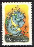 Australia 2002 The Magic Rainforest - 45c Bunyip Used - 2000-09 Elizabeth II