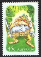 Australia 2002 The Magic Rainforest - 45c Gnome With Sword Used - 2000-09 Elizabeth II
