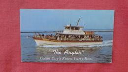 Maryland > Ocean City  Fishing Boat The Angler Capt Wm. Bunting  -ref 2479 - Ocean City