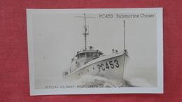 PC 453  Submarine Chaser Ref 2479 - Krieg