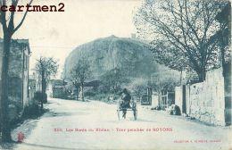 TOUR PENCHEE DE SOYONS ATTELAGE 26 DROME - Francia